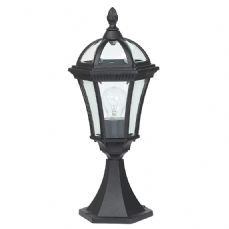 Endon Lighting YG-3502 Chromate Treated Matt Black Cast Aluminium Post